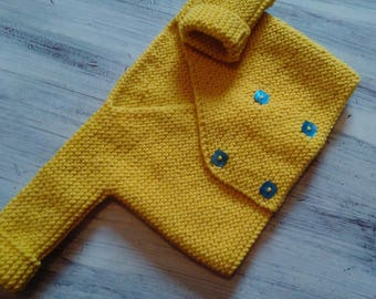 jacket or vest yellow for the birth to 1 month