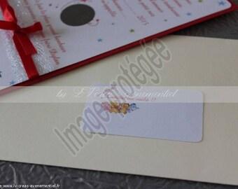 20 tags in envelope
