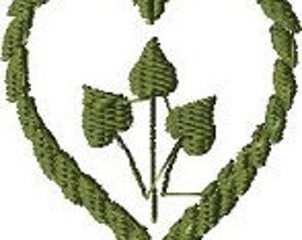 Ivy Leaf Heart