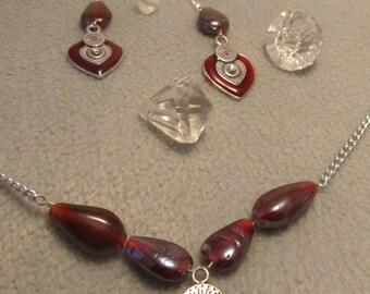 Creat ' heart' set ' Y. O.N - unique and feminine-