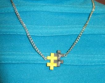 """the necklace """"GAME"""" Creat'Y. O.N - unique & original-"""