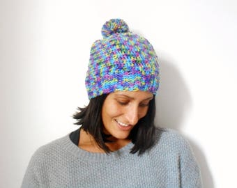 Wool Cap with pompon
