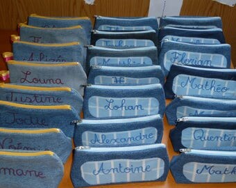 Set of 25 kits denim: a package for each child in the class