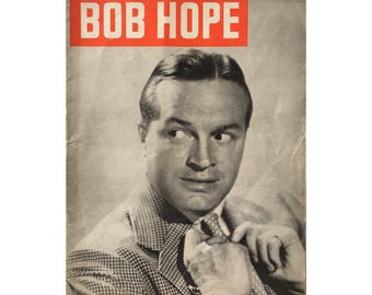 Bob Hope 1949 Vintage Magazine