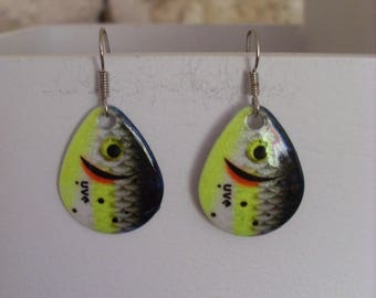 """Earrings """"edition special fish"""""""