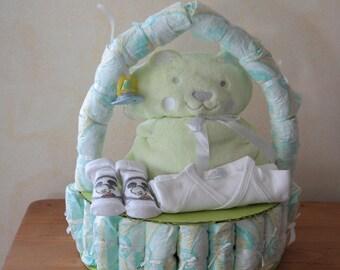 for birth gift diaper cake