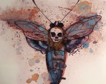 Death moth #4