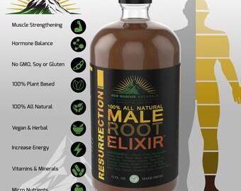 RESURRECTION Male Root Elixir