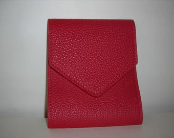 Red Buffalo leather checkbook