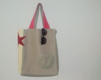 Spring tote bag, very practical for any occasion