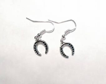 1 every day - cute pair of Silver Earring and charm