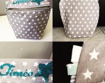 Bag for snack custom fabric...