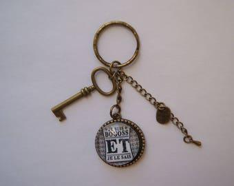 Key ring for men