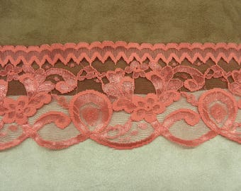 LACE of CALAIS - 9 cm - hot pink