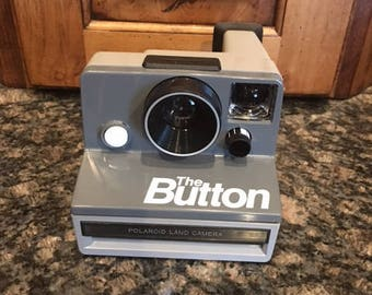 "Polaroid Land Camera ""The Button"""