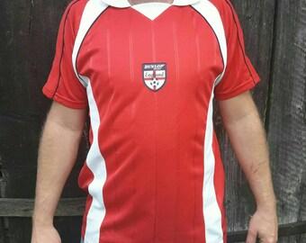 DUNLOP SPORT ENGLAND red T-shirt Size L