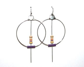 "BO Creole resistance and wire recycled ""Purple"""