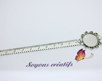 Brand Page rule flower silver ring 20mm - 138 mm.