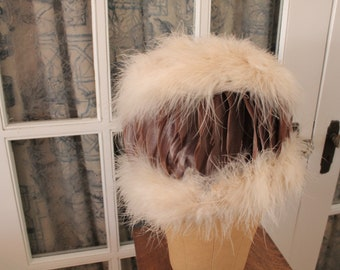 1950's Feather Hat