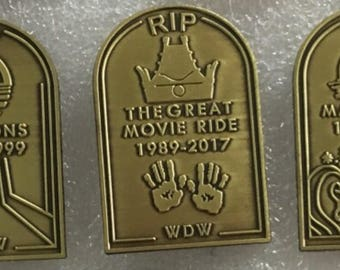 Themepark Grave Yard Series Enamel Pins