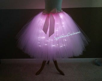 led tutu etsy. Black Bedroom Furniture Sets. Home Design Ideas