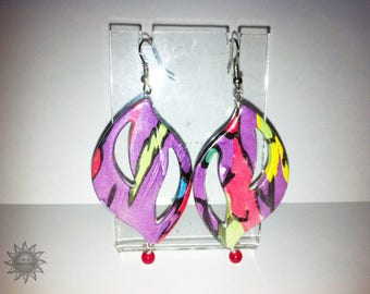 Multicolor leaf resin ornament