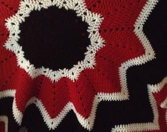 """Spectrum 48"""" x 48"""" Crochet Blanket"""