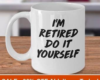 retirement mug, retirement gift, retired mug, retirement gifts, retirement mug, retirement glass, happy retirement, retirement gift idea