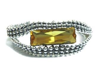KIT jewelry yellow Topaz Bracelet