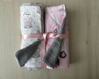 Burp Cloths set, Baby gifts