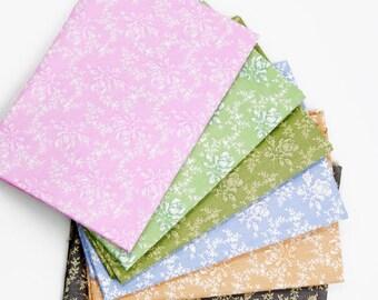 6pcs / Lot 20*25cm Cotton Fabrics Patchwork Quilting Sewing Handmade DIY Sewing Fabrics Dress Material
