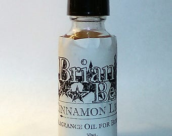 Cinnamon Scented Incense or Fragrance Oil Formulated for Burners or Warmers - Premium Grade & Quality!
