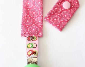 Tie clip #4 baby blanket or pacifier