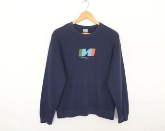 Nike Swoosh Small Logo Pullover Jumper Sweatshirt