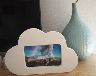 Cloud photo frame