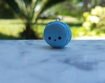 Blue Macaroon Charm