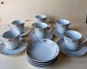 "Vintage Fine Porcelain China ""Claremont"" 1970's"