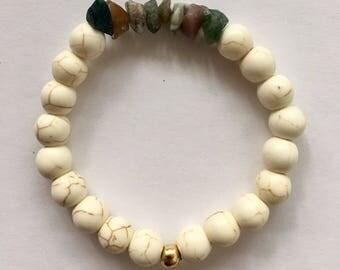 Rustic Stone Bracelet