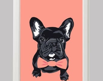 French Bulldog Print (A4)
