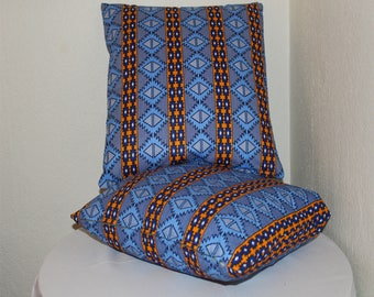 African print pillow covers - African print - Pillow cases - 100% cotton - cushion cover - cushion case - Home decor