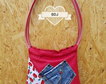 BDJ tote - Bag cherry a Mano