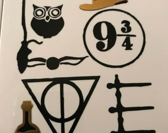 Love Harry Potter Vinyl Decal Sticker