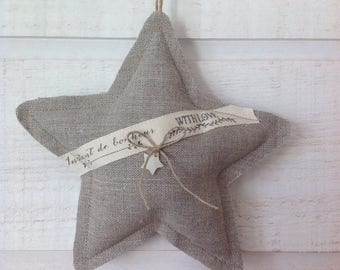 Deco star linen (2nd)