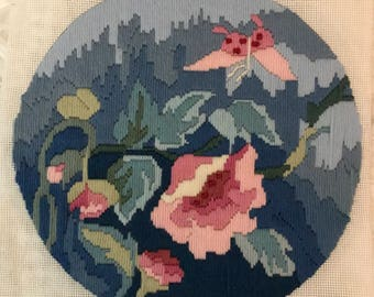 Tapestry Longstitch Canvas Flower Image