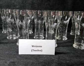 Weizens - viintage glassware