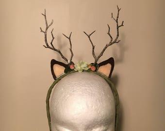 Woodland Doe Deer Headband