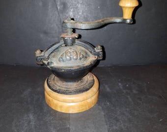 Vintage Style Jar Top Coffee Grinder