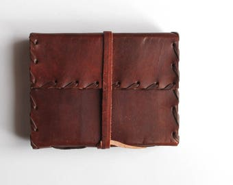 Craft Leather Journal Handmade Leather Journal Notebook Diary sketchbook Small Size Diary Plain Leather Diary gift book