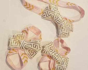 Barefoot sandals/ Toe bows/ Headbands
