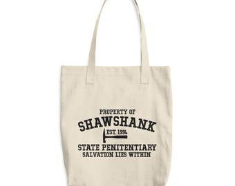 Property Of Shawshank Redemption Cotton Tote Bag